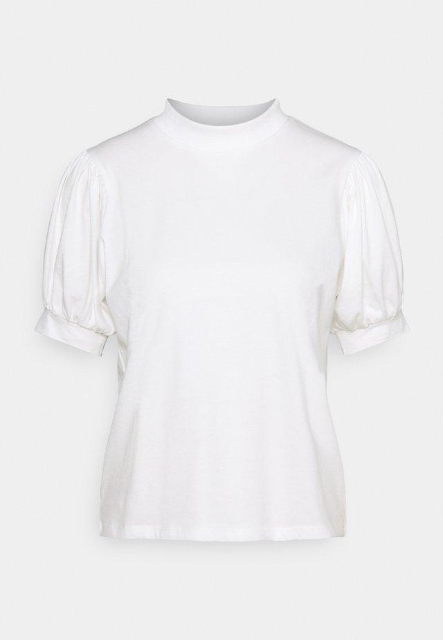 SHORT SLEEVE - T-shirt imprimé - antique white
