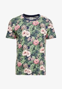 edc by Esprit - TEE - T-shirt med print - navy - 4