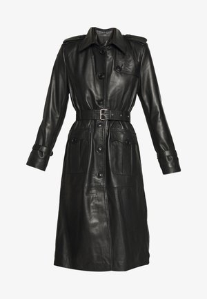 JENNI LONG - Trenchcoat - black