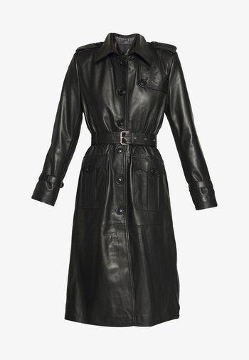 JENNI LONG - Trenchcoat - black