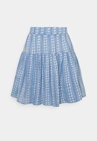 YAS - YASPACCA SKIRT - Mini skirt - cashmere blue - 0