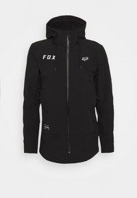 Fox Racing - PIT JACKET - Soft shell jacket - black/grey - 0