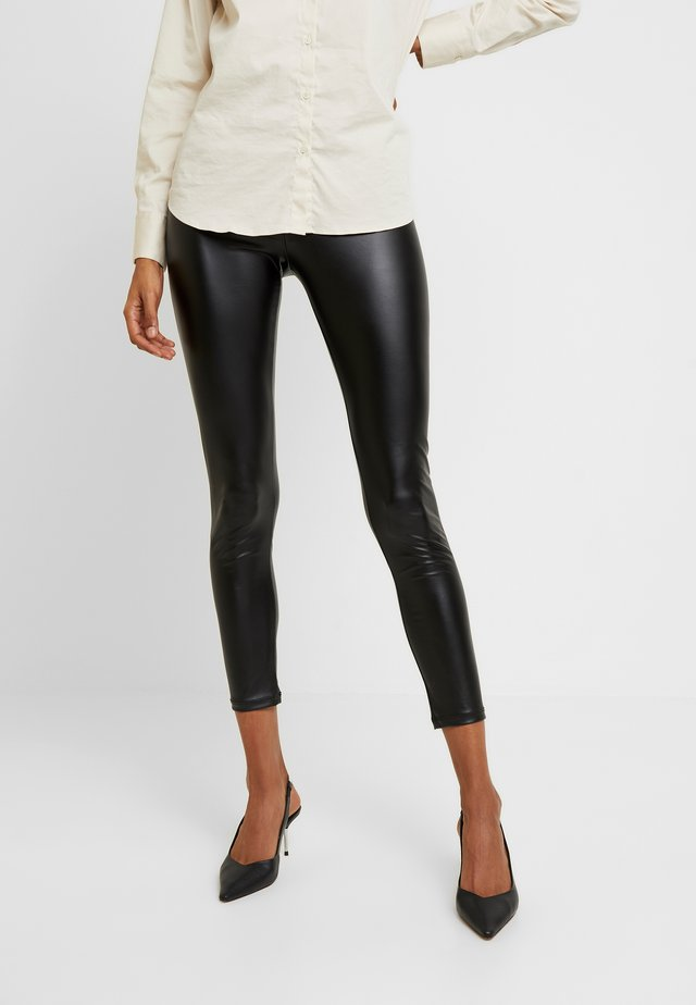 LEGGINGS - Leggings - Trousers - black