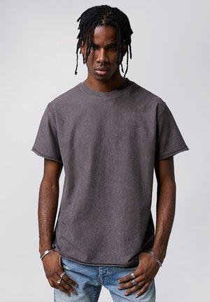 BRONSON - Print T-shirt - vintage grey