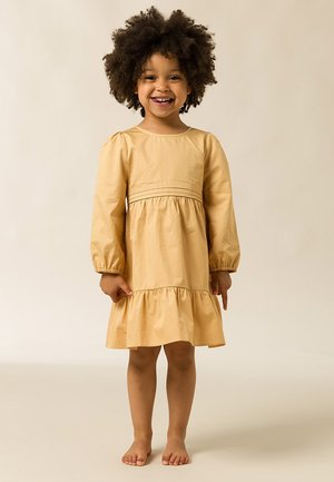 Denní šaty - golden cream