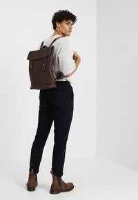 KIOMI - Rucksack - dark brown - 1
