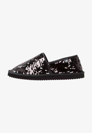 FLIPPADRILLA SEQUINS - Slippers - black