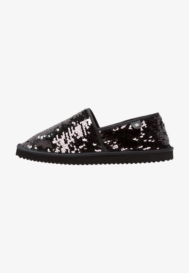 FLIPPADRILLA SEQUINS - Mocassins - black