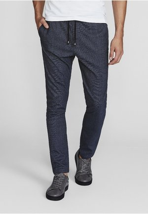 GARCIA SLIM FIT - Trousers - blue