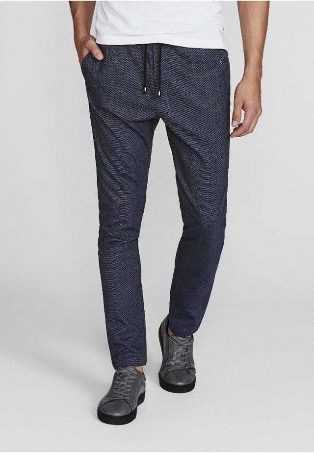 GARCIA SLIM FIT - Trousers - blue