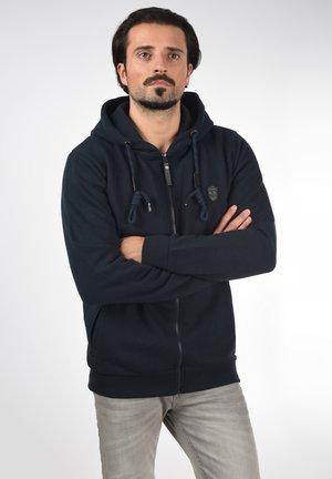 BARNHILL - Zip-up sweatshirt - navy