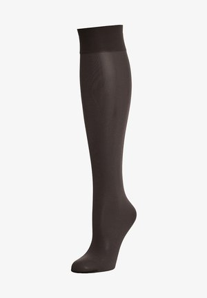 SATIN TOUCH - Knee high socks - black