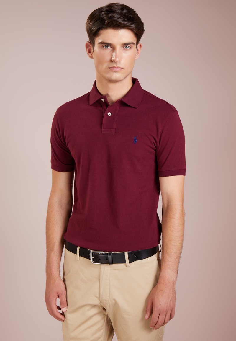 Polo Ralph Lauren - SLIM FIT MODEL  - Polo - classic wine