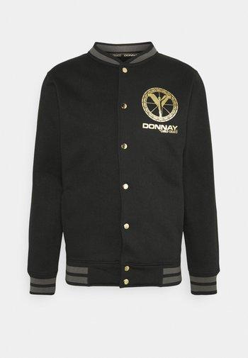 DONNAY X CARLO COLUCCI - Giubbotto Bomber - black/gold
