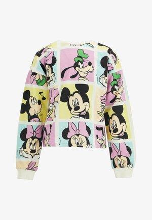 DISNEY GIRL  - Sweatshirt - ecru