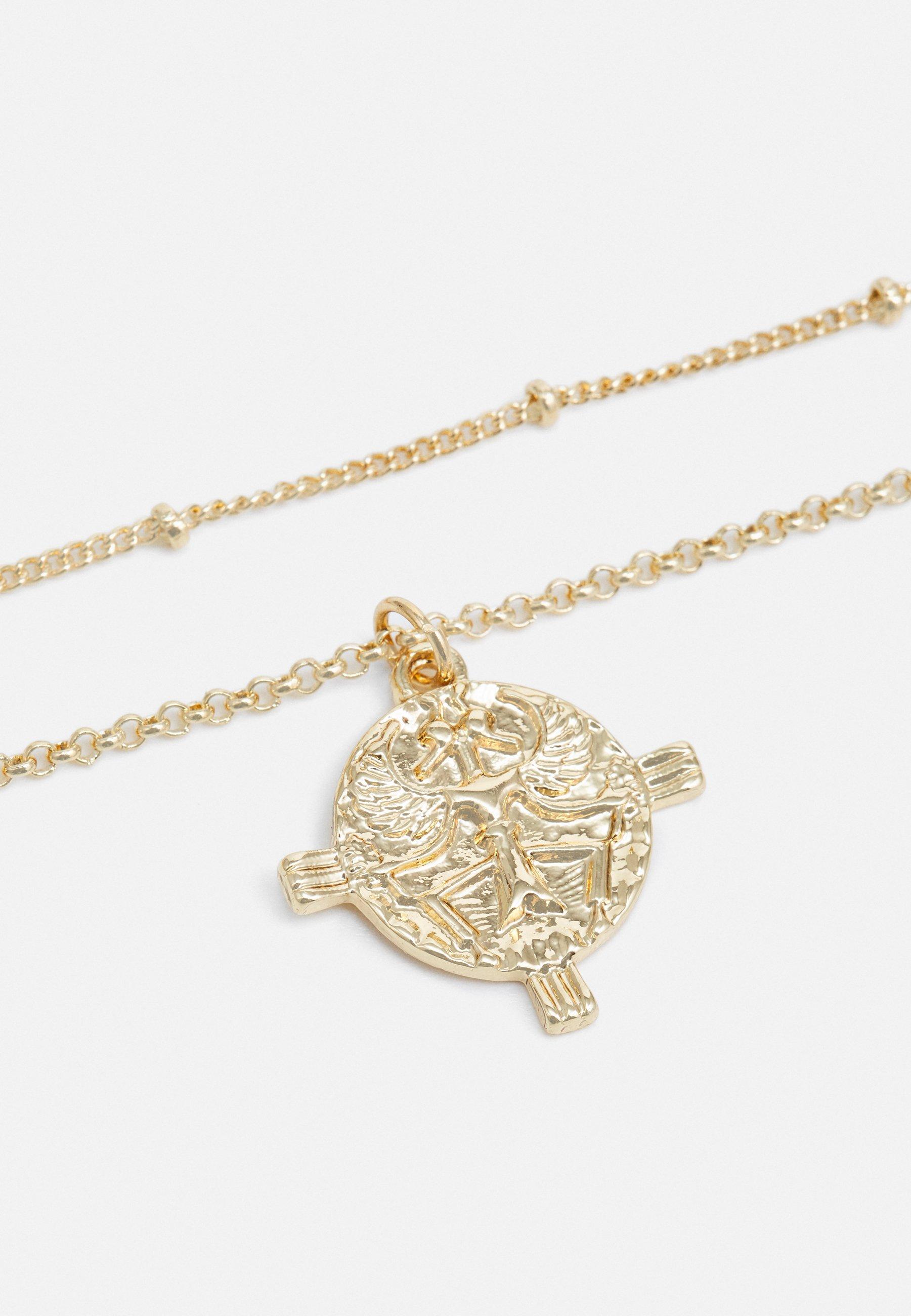 LIARS & LOVERS ENGRAVED CHARM - Smykke - gold-coloured/gull d9v5Ocbu72HDsQd