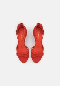 Cosmoparis - ZOE - Sandals - orange/fuchsia - 5