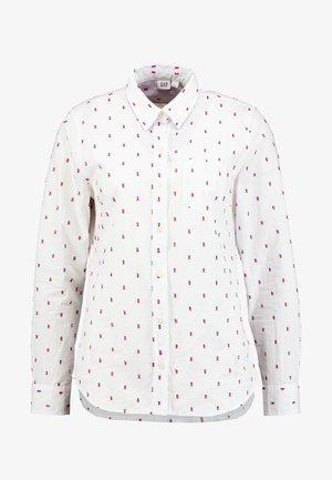 Košile - pink/burgundy