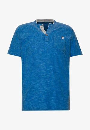 HENLEY - T-shirt basic - blue