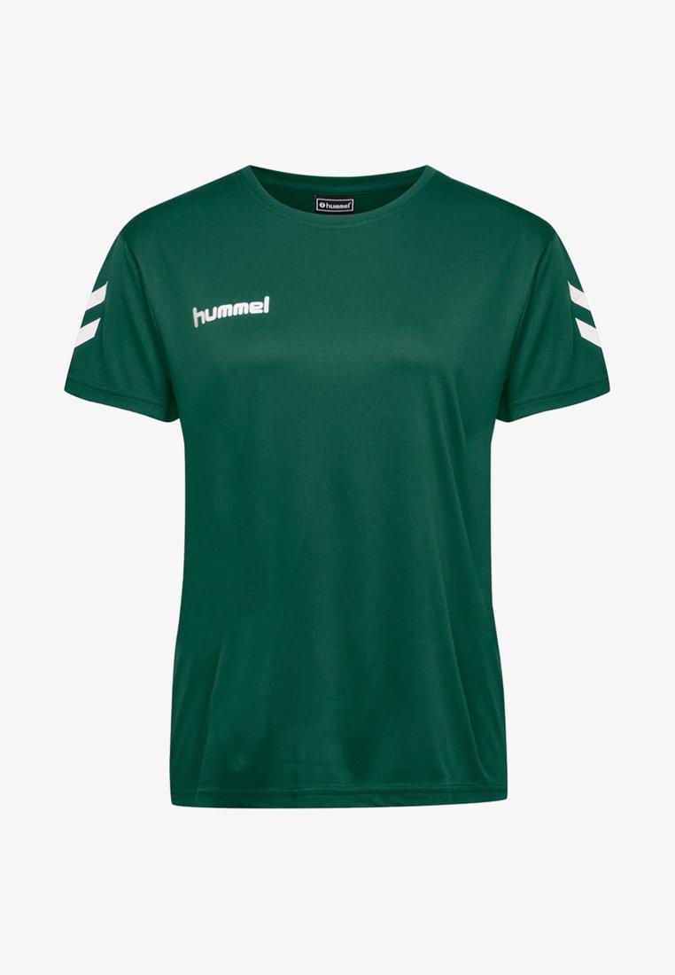 Hummel - T-shirt print - evergreen