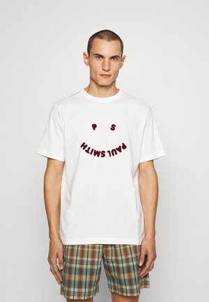 HAPPY - Print T-shirt - off white