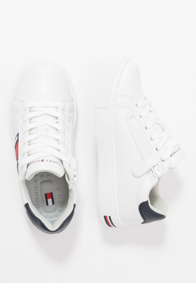 Tommy Hilfiger - Sneakersy niskie - white/blue