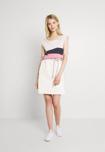 TARAYA - Shift dress - beige