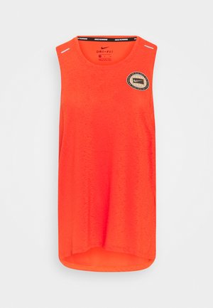 MILER TANK - Camiseta de deporte - team orange/gelati/reflective silver