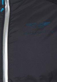Hackett Aston Martin Racing - QUILT - Lehká bunda - black/grey - 2