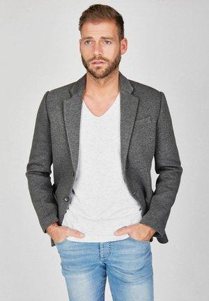 SWEAT-SAKKO MELANGE - Blazer jacket - grau