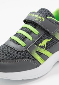 KangaROOS - INKO  - Sneakers - steel grey/lime - 2