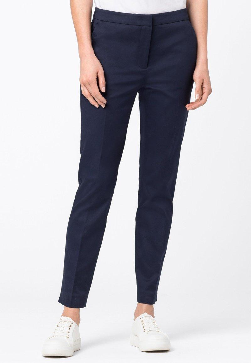HALLHUBER - CHARLOTTE  - Trousers - dark blue