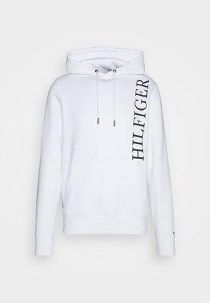 HOODY - Sweatshirt - white