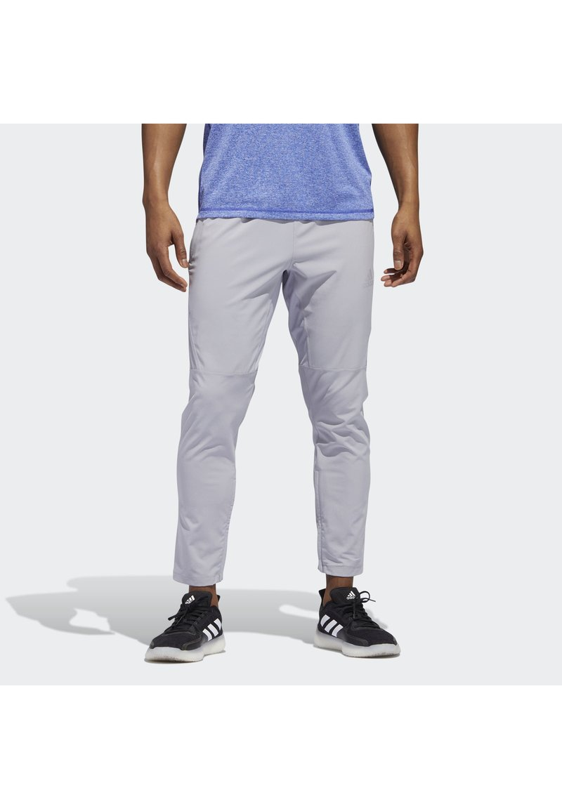 adidas Performance - AEROREADY 3-STRIPES PANTS - Tracksuit bottoms - grey