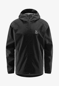 Haglöfs - BUTEO JACKET - Hardshell jacket - true black - 4