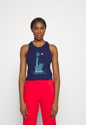 TANK NYC LIBERTY - Sports shirt - binary blue