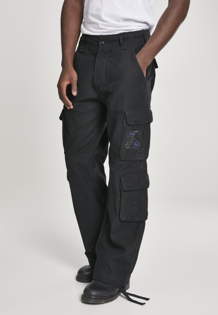 Brandit - Cargo trousers - black