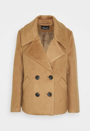 PCSAXONA JACKET - Cappotto classico - toasted coconut
