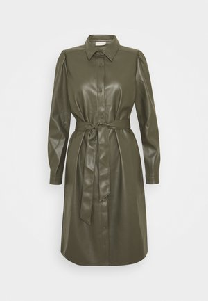 HARLEY - Shirt dress - olive night