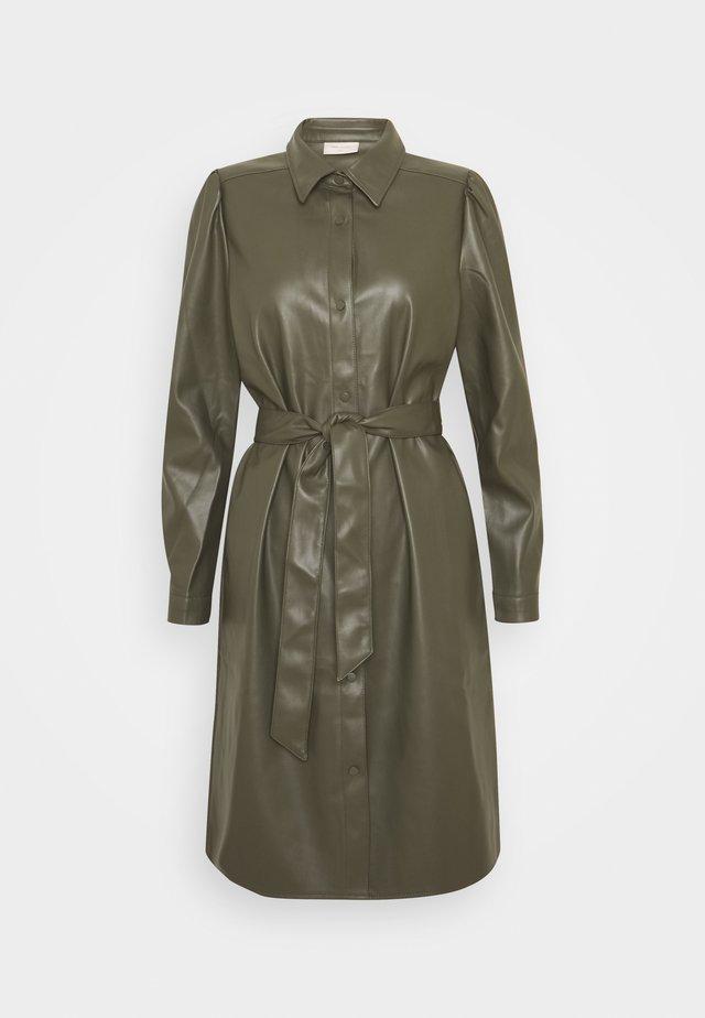 HARLEY - Shirt dress - olive night