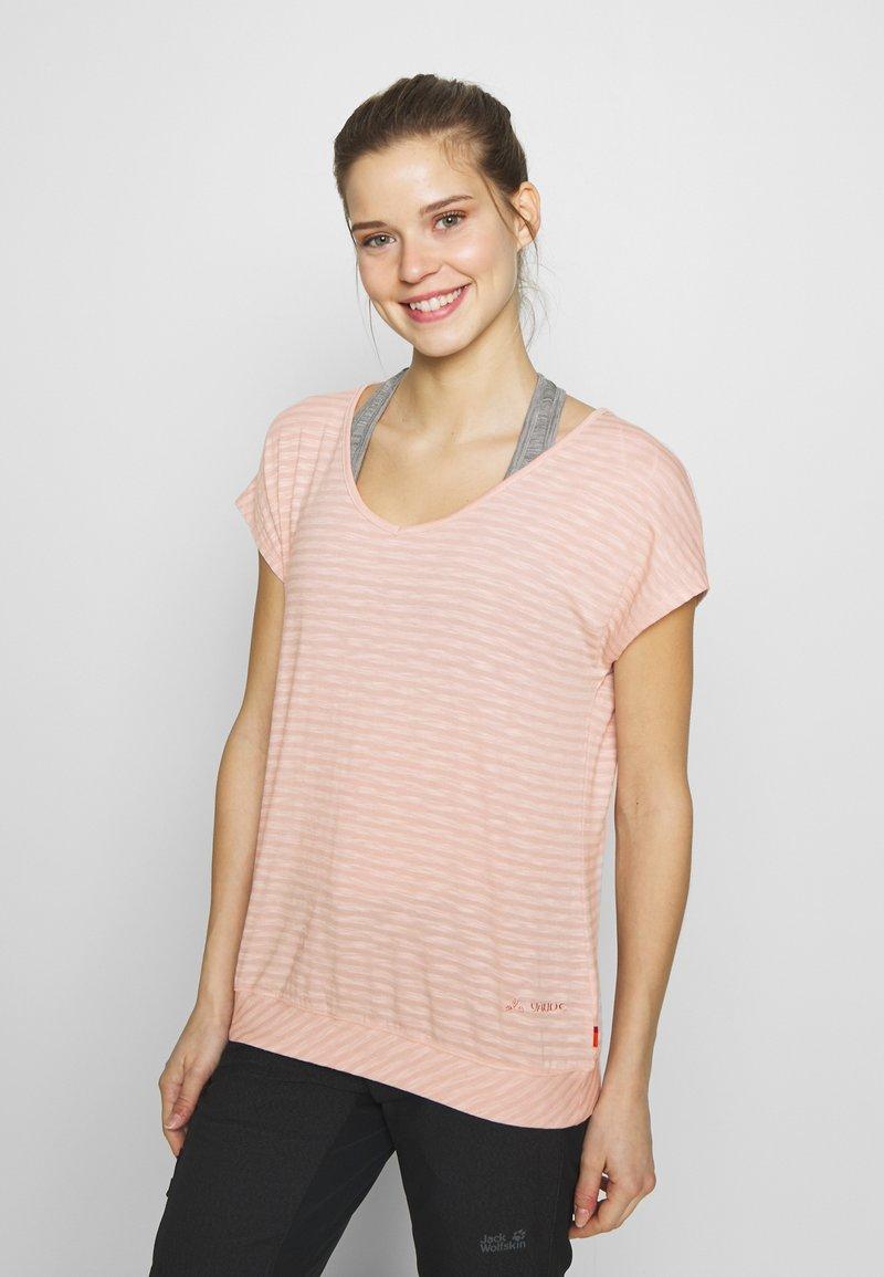 Vaude - SKOMER - T-shirts med print - rosewater