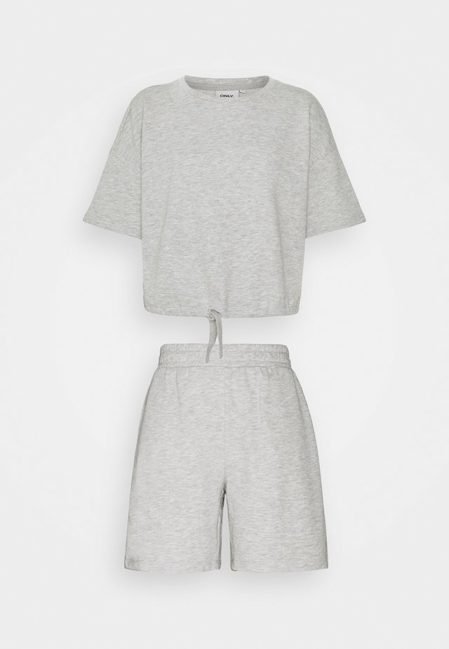 ONLISSI LIFE SET - T-shirts basic - light grey melange
