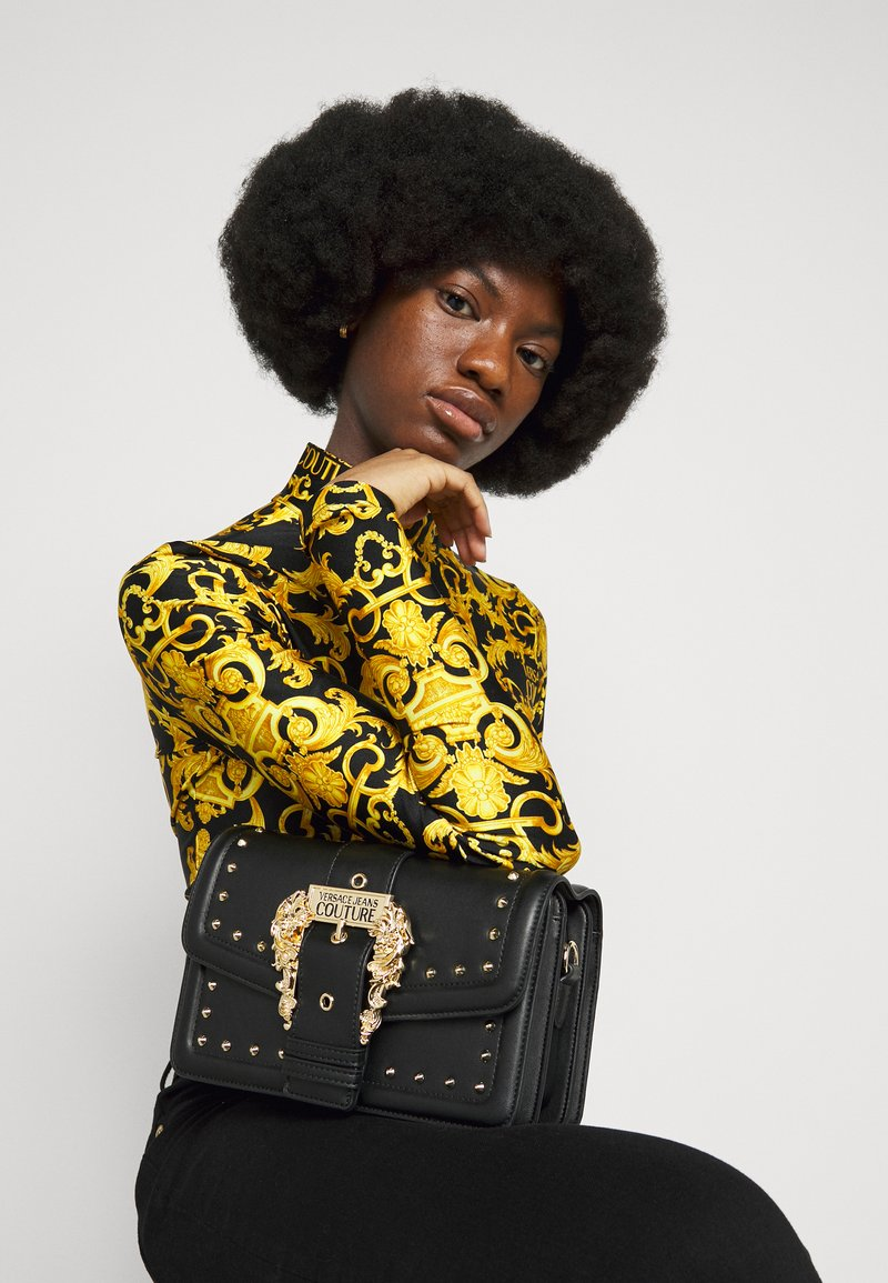 Versace Jeans Couture - COUTURE SHOULDER BAG - Torebka - nero