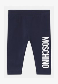 MOSCHINO - Leggings - Trousers - blue navy - 0