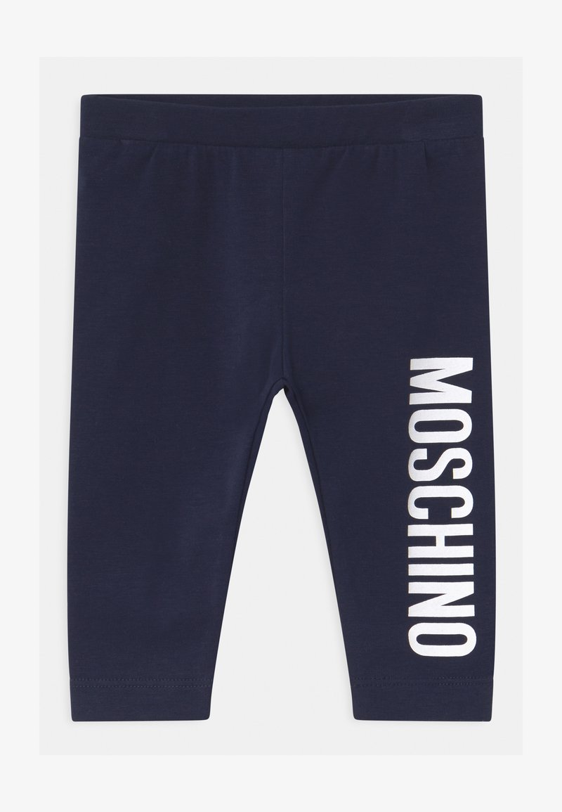 MOSCHINO - Leggings - Trousers - blue navy