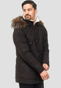 INDICODE JEANS - BAYNES - Winter coat - chocolate - 0