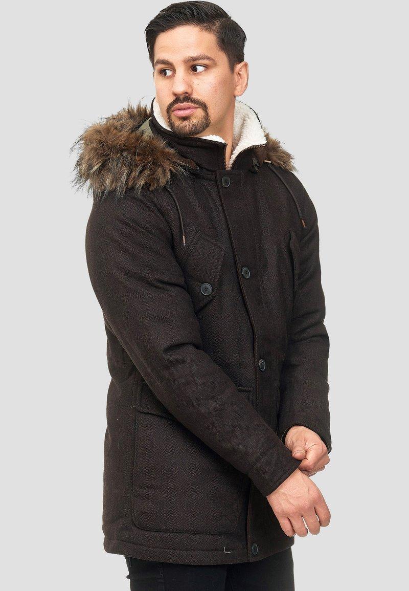 INDICODE JEANS - BAYNES - Winter coat - chocolate