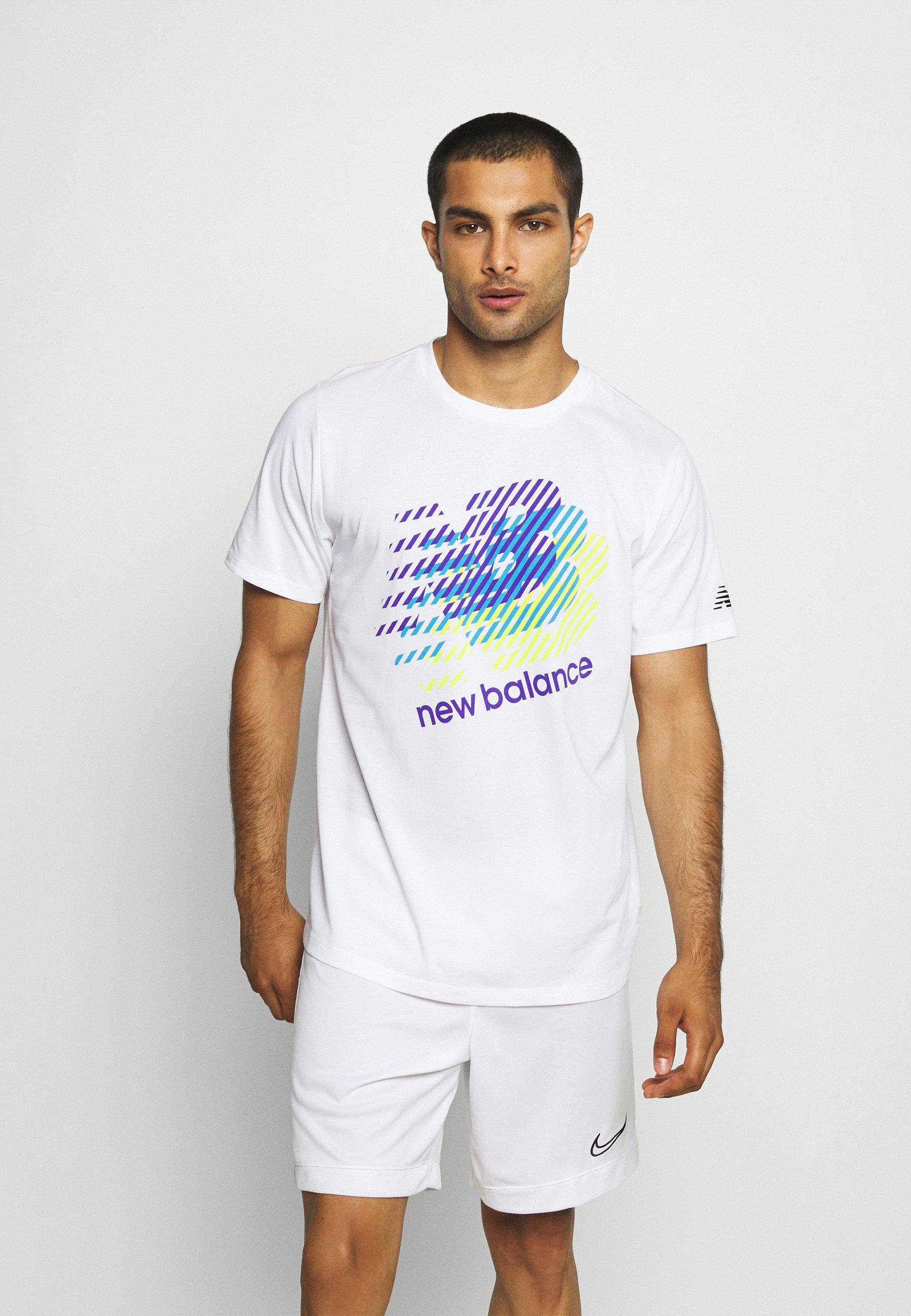 Homme GRAPHIC HEATHERTECH TEE - T-shirt imprimé