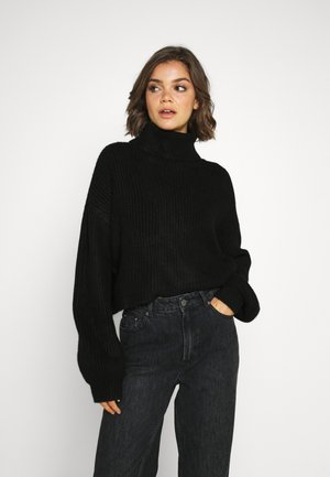 BILBA - Jumper - black