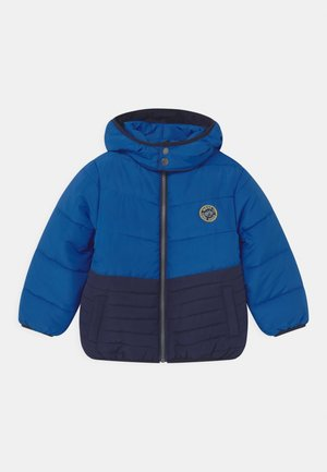 KIDS BOYS HIGHNECK - Winter jacket - ocean